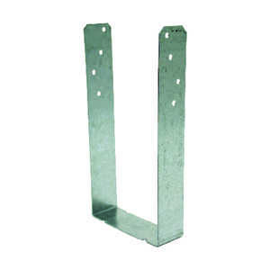 Simpson Strong-Tie  3.6 in. H x 1.3 in. W x 7.2 in. L Steel  Stud Plate  Galvanized