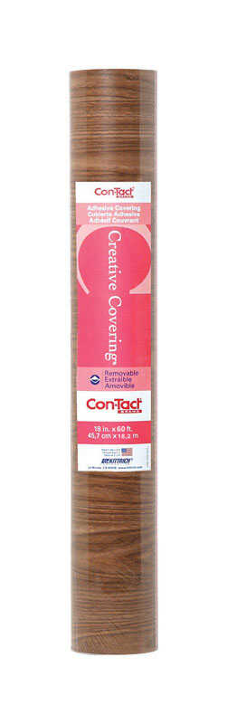 Con-Tact Brand  Creative Covering  60 ft. L x 18 in. W Light Oak  Self-Adhesive  Shelf Liner