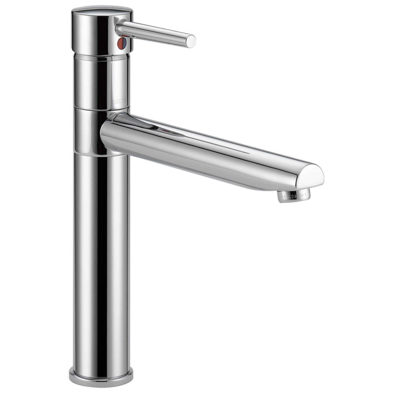 Delta Trinsic One Handle Chrome Kitchen Faucet Ace Hardware