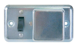 Bussmann  15 are Toggle  Switch & Cover  Gray  1 pk