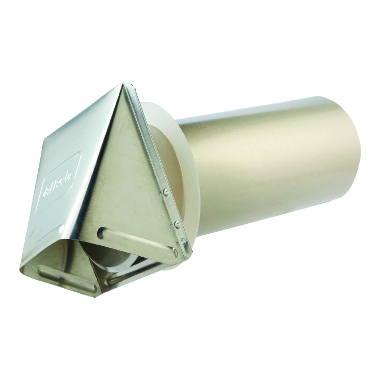 Ace  4 in. W x 6 in. L Silver  Aluminum  Dryer Vent Hood
