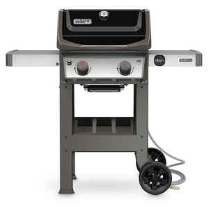 Weber  Spirit II E-210  2 burners Natural Gas  Grill  Black  26500 BTU