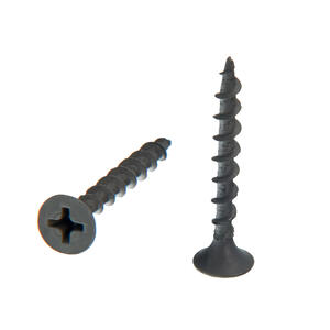 Senco  DuraSpin  No. 6   x 1-1/4 in. L Phillips  Gray Phosphate  Drywall Screws  1000 pk