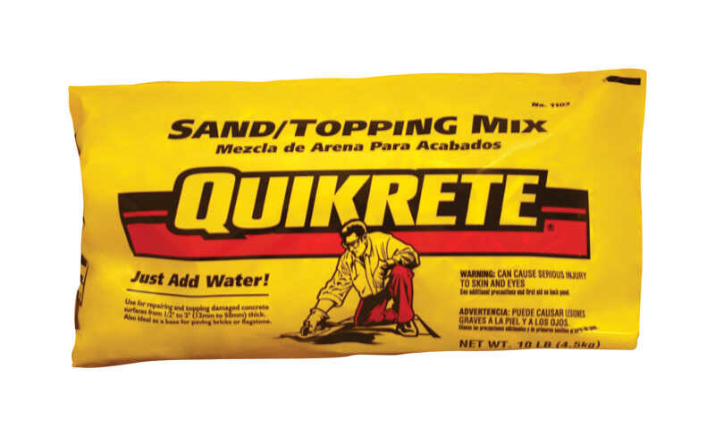 Quikrete  Sand Topping Mix  10 lb.