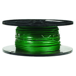 Campbell Chain  Green Vinyl  Galvanized Steel  1/16 in. Dia. x 250 ft. L Cable