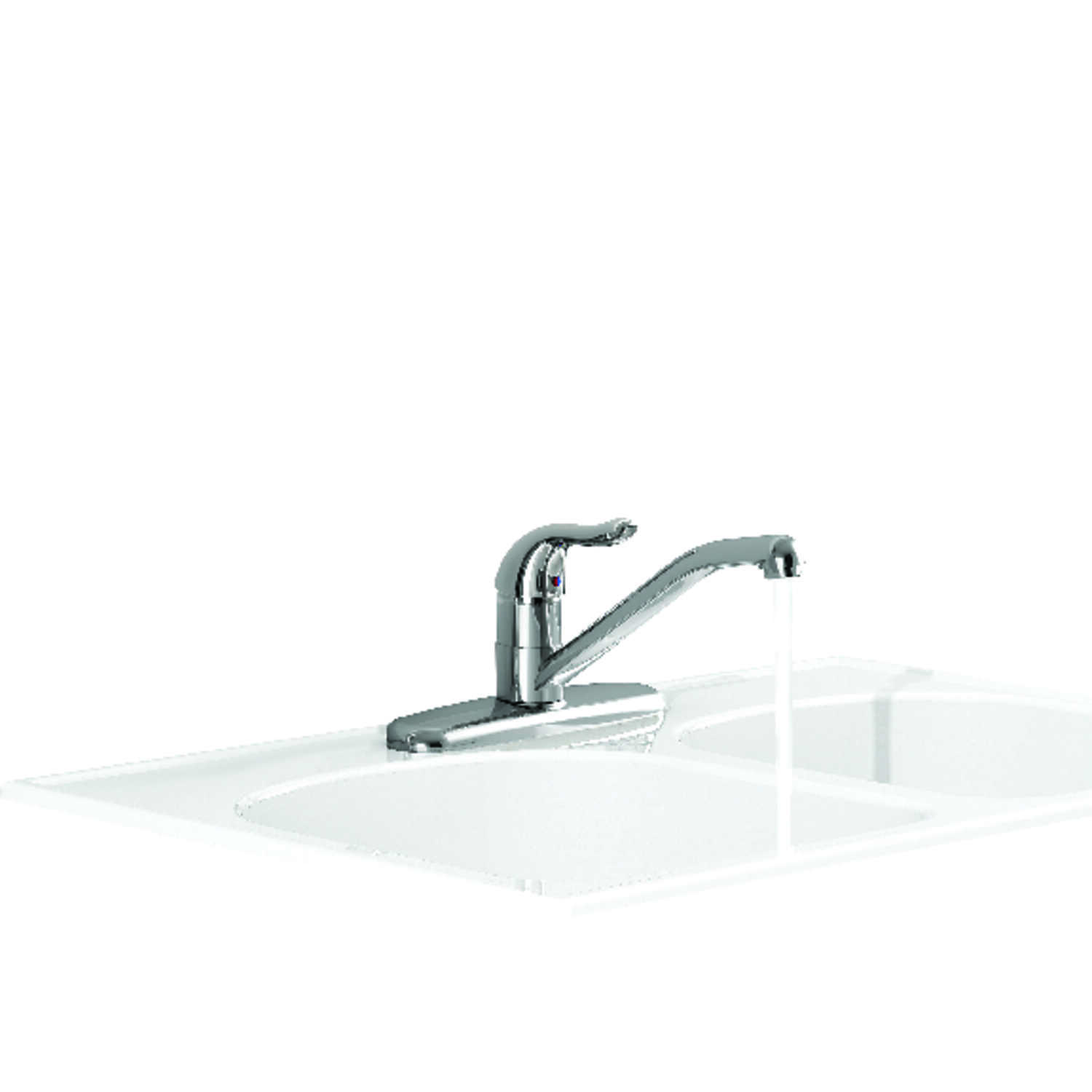 American Standard  Jocelyn  One Handle  Polished Chrome  Kitchen Faucet