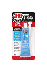 J-B Weld  Silicone  High Strength  Gel  Silicone Adhesive Sealant  3 oz.
