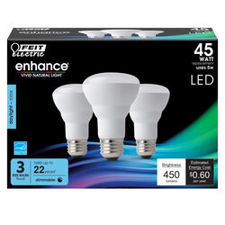 Feit Electric  Enhance  R20  E26 (Medium)  LED Bulb  Daylight  45 Watt Equivalence 3 pk