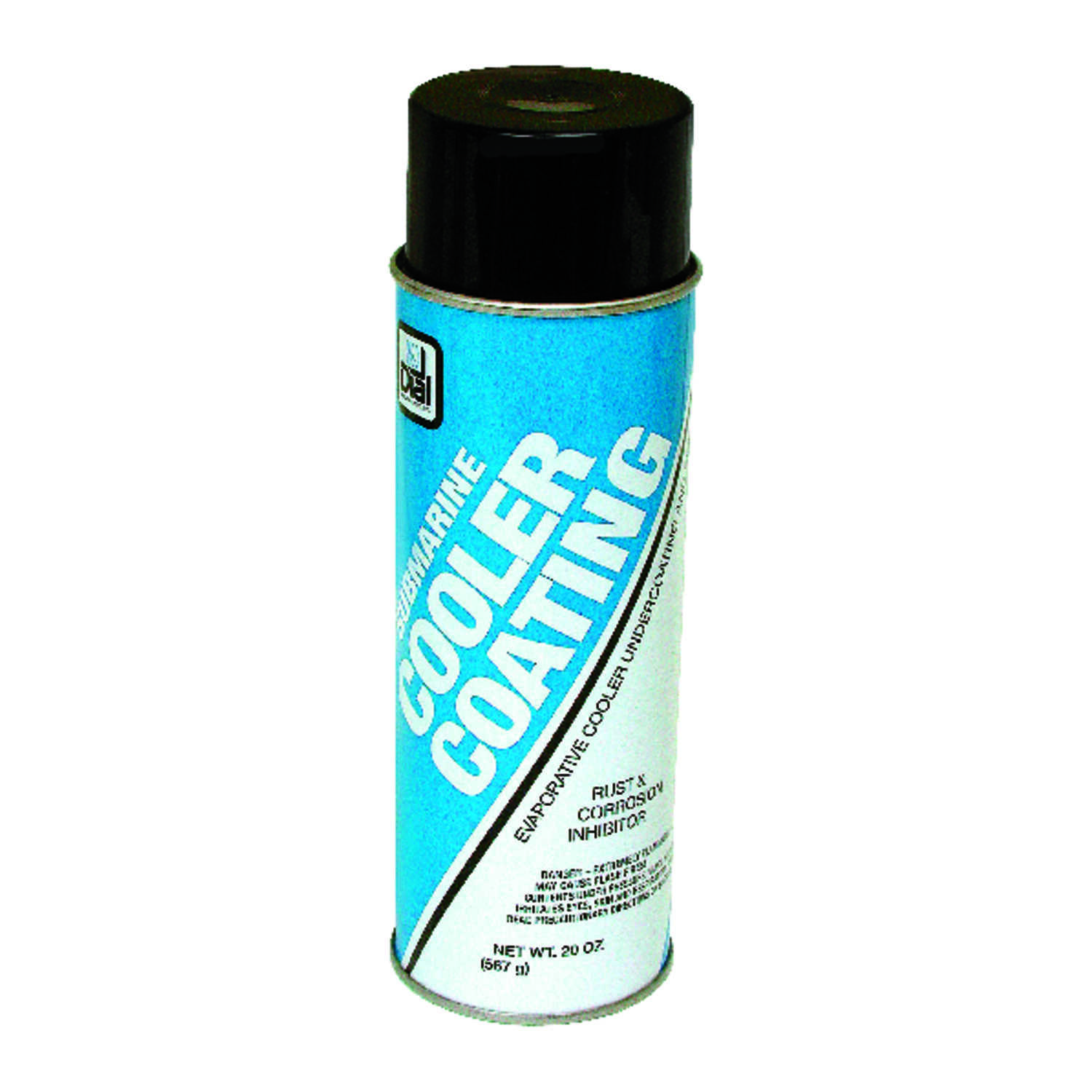 Dial  9 in. H x 3 in. W Plastic  White  Aerosol Cooler Coating