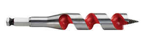 Milwaukee  7/8 in. Dia. x 6 in. L Ship Auger Bit  Hardened Steel  1 pc.