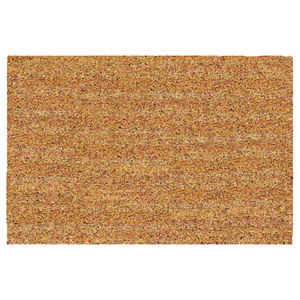 DeCoir  Natural Tan  Tan  Coir  Nonslip Door Mat  24 in. L x 36 in. W