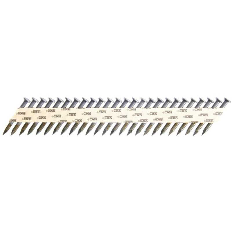 Senco  34 deg. 16 Ga. Smooth Shank  Angled Strip  Metal Connector Nails  1-1/2 in. L x 0.13 in. Dia.
