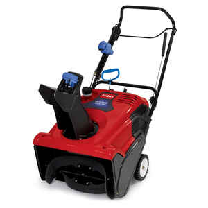 Toro  PowerClear 721  21 in. W 212 cc Single-Stage  Electric Start  Snow Blower