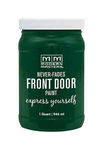 Modern Masters  Satin  Natural  Front Door Paint  1 qt.