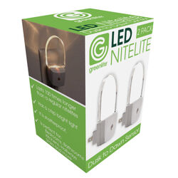 Greenlite Automatic Plug-in Oval LED Nightlight w/Sensor