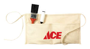 Ace  Heavy Duty 2  Cotton  Waist Apron  1 pk White