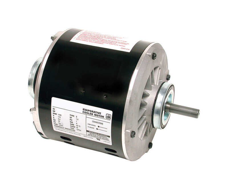 Dial  Black  Evaporative Cooler Motor Kit  Metal