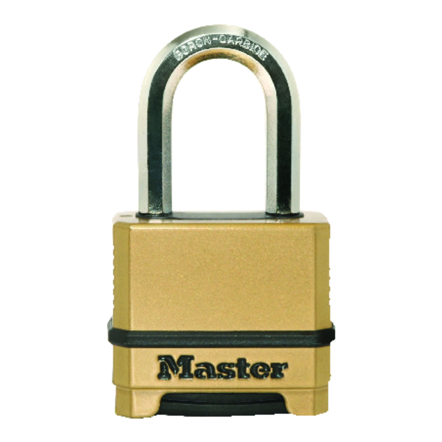 Master Lock  2 in. H x 1-7/32 in. W x 2 in. L Steel  Dual Ball Bearing Locking  Padlock  1 pk Keyed