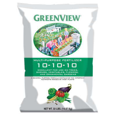 GreenView  10-10-10  Fertilizer