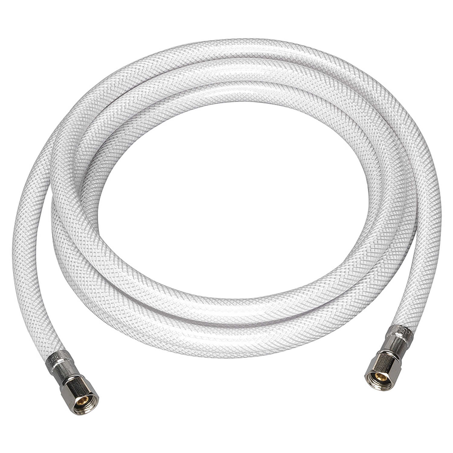 Ace Hardware  1/4 in. Compression   x 1/4 in. Dia. Compression  240 in. PVC  Supply Line