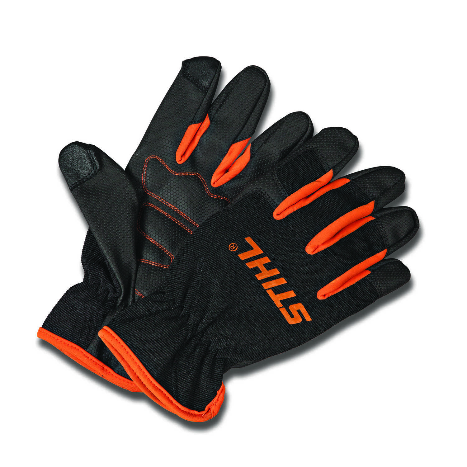 STIHL  M  General Purpose  Black/Orange  Gloves