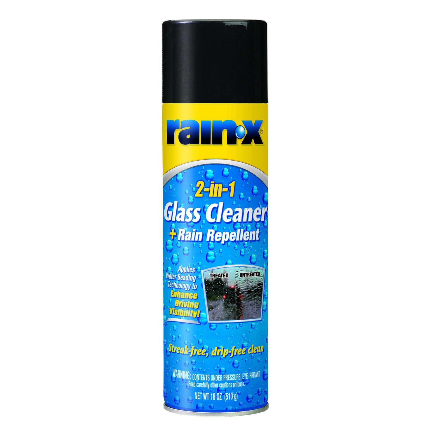 Rain-X Glass Cleaner/Rain Repellant Aerosol 18 oz.