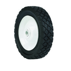 Arnold  1.5 in. W x 6 in. Dia. Steel  Lawn Mower Replacement Wheel  50 lb.
