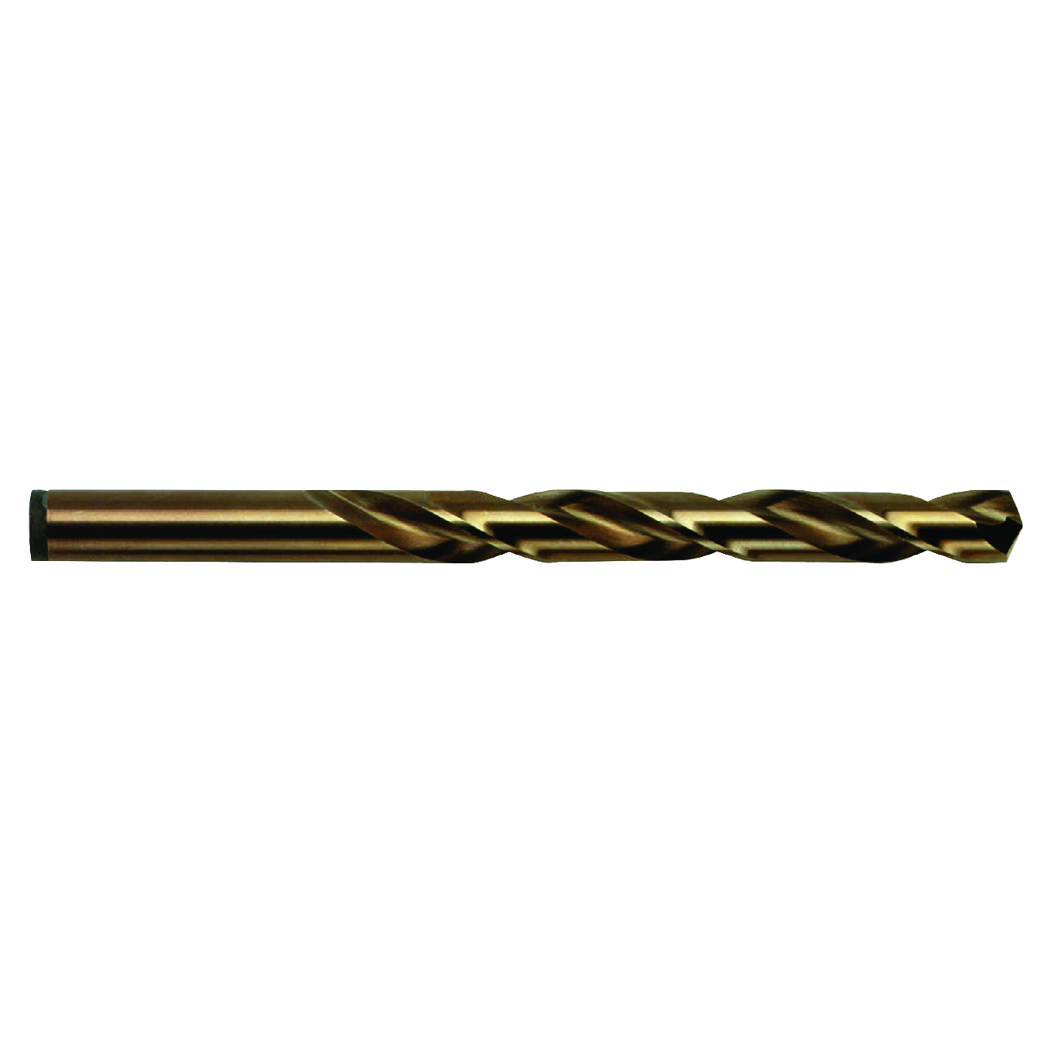 Irwin  Cobalt  31/64 in. Dia. x 5-7/8 in. L High Speed Steel  Drill Bit  Straight Shank  1 pc.