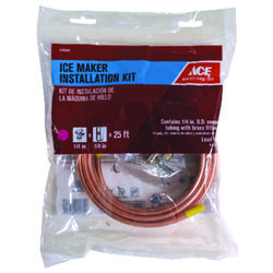 Ace  1/4 in. Dia. x 25 ft. L Type L  Ice Maker Kit