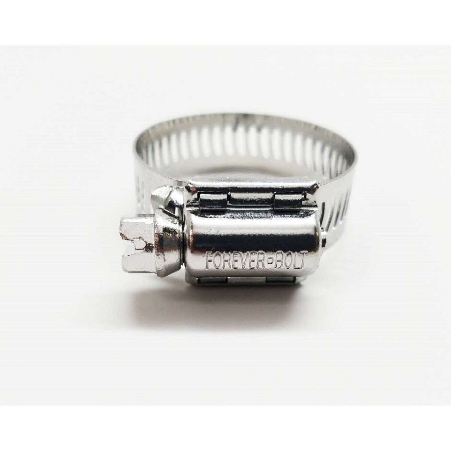 FOREVERBOLT  13/6 in. to 1-3/4 in. SAE 20  Silver  Hose Clamp  Stainless Steel  Band
