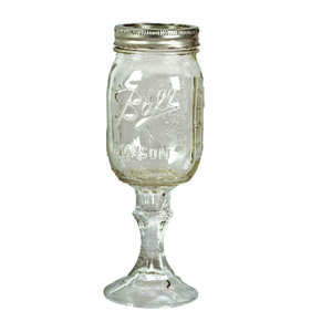 Rednek  16 oz. Clear  Wine Glass  Glass