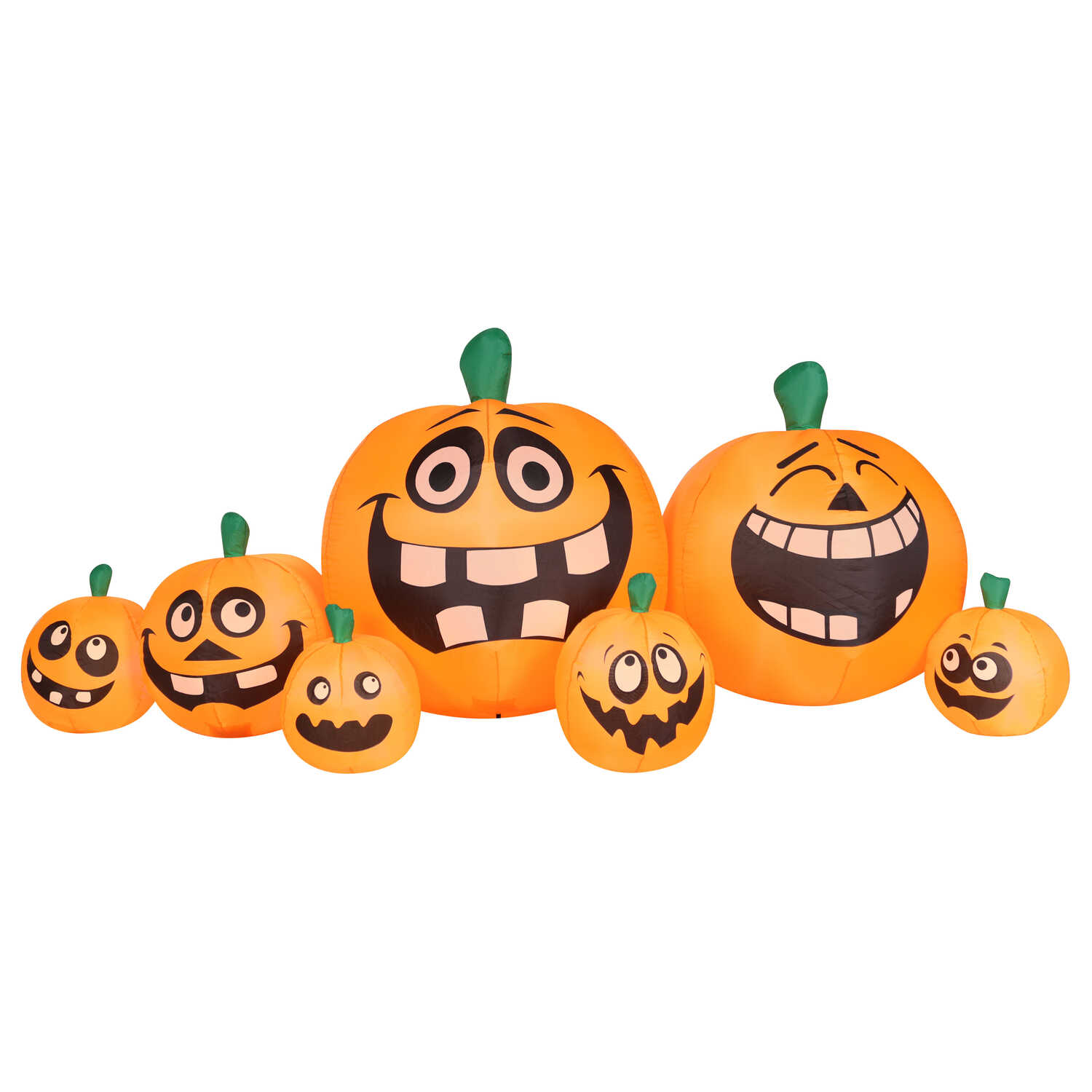 Occasions  Pumpkin Patch  Lighted Halloween Decoration  40 in. H x 44 in. W x 102 in. L 1 pk