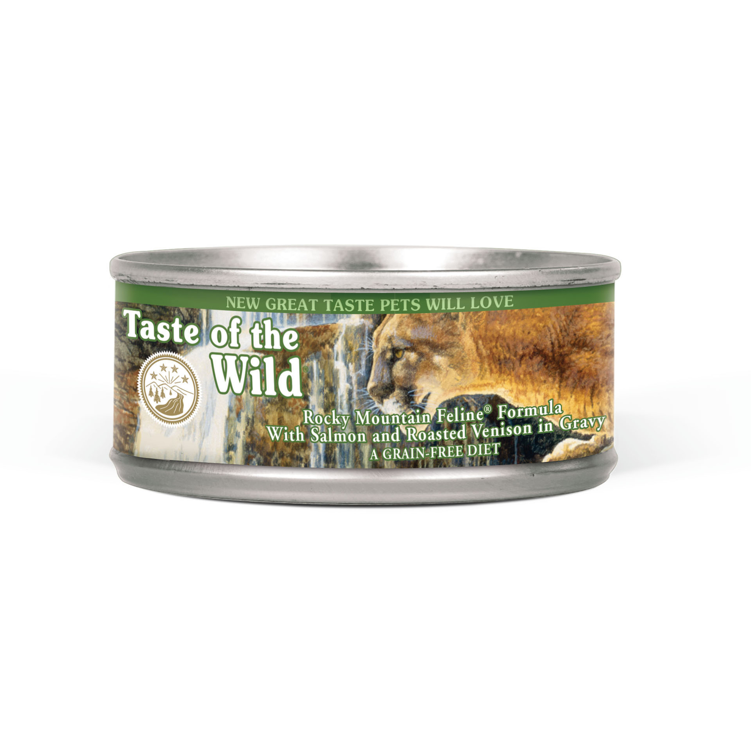 Taste of the Wild  Rocky Mountain Feline  Venison & Salmon  Minced  Dog  Food  Grain Free 5.5 oz.