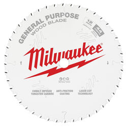 Milwaukee  12 in. Dia. x 1 in.  General Purpose  Saw Blade  Tungsten Carbide  44 teeth 1 pk