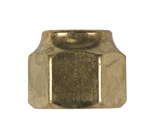 Ace  1/2 in. Flare   Brass  Forged Flare Nut