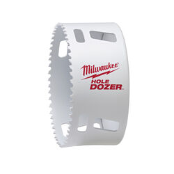 Milwaukee  Hole Dozer  4-1/8 in. Bi-Metal  Hole Saw  1 pc.