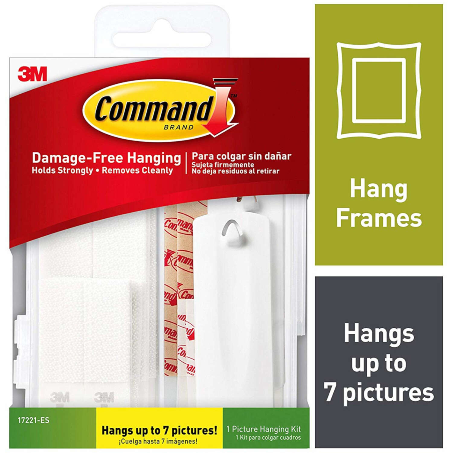 3M Command White Foam Picture Hanging Set 16 pk