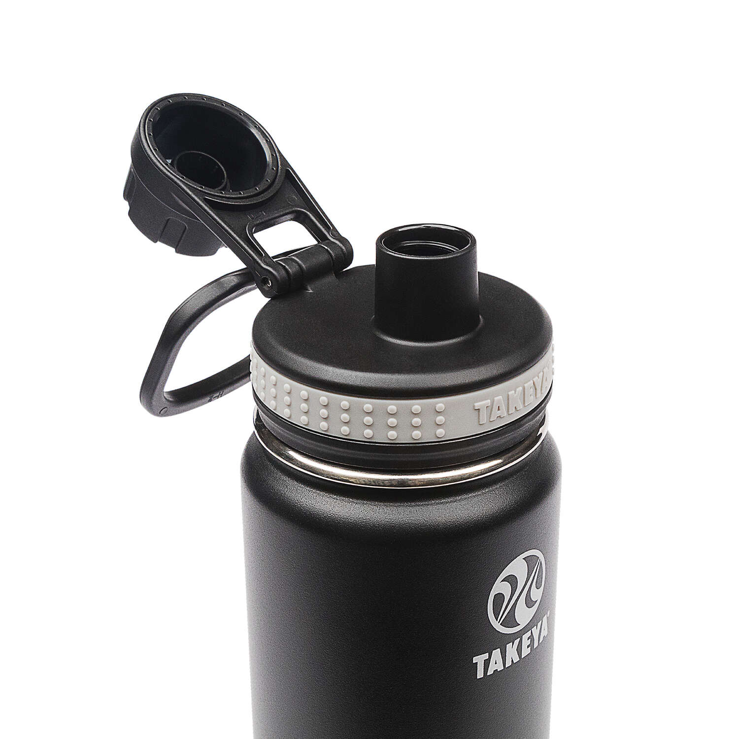 Takeya ThermoFlask  Asphalt  Stainless Steel  Double Walled  BPA Free 18 oz. Double Wall Tumbler