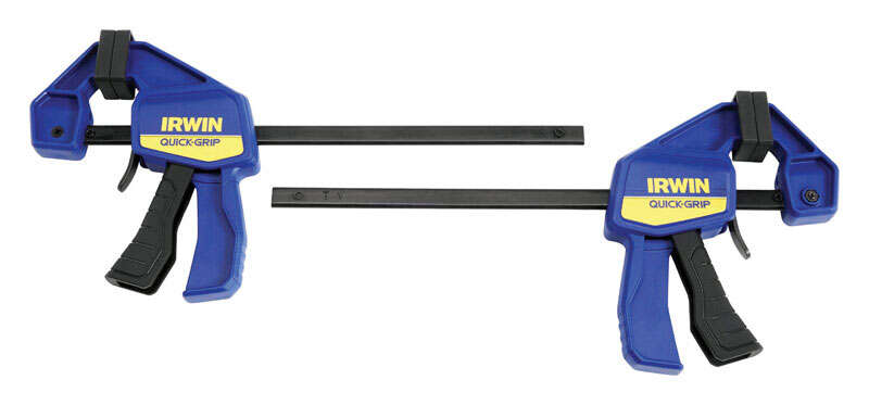 Irwin  Quick-Grip  6   x 2-7/16 in. D 100 lb. 2 pk Bar Clamp
