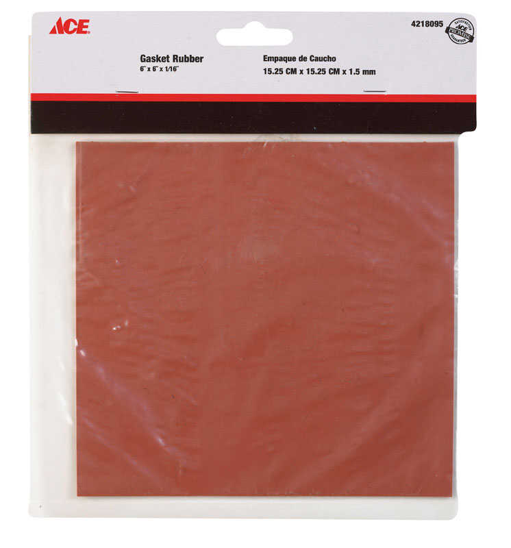 Ace  6 in. Dia. x 6 in. L Rubber Sheet Packing