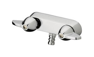Homewerks  2 Handles  Chrome  Brass  Tub and Shower Faucet