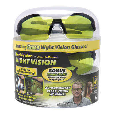 Bulbhead  Atomic Beam  Night Vision  Glasses  2 pk