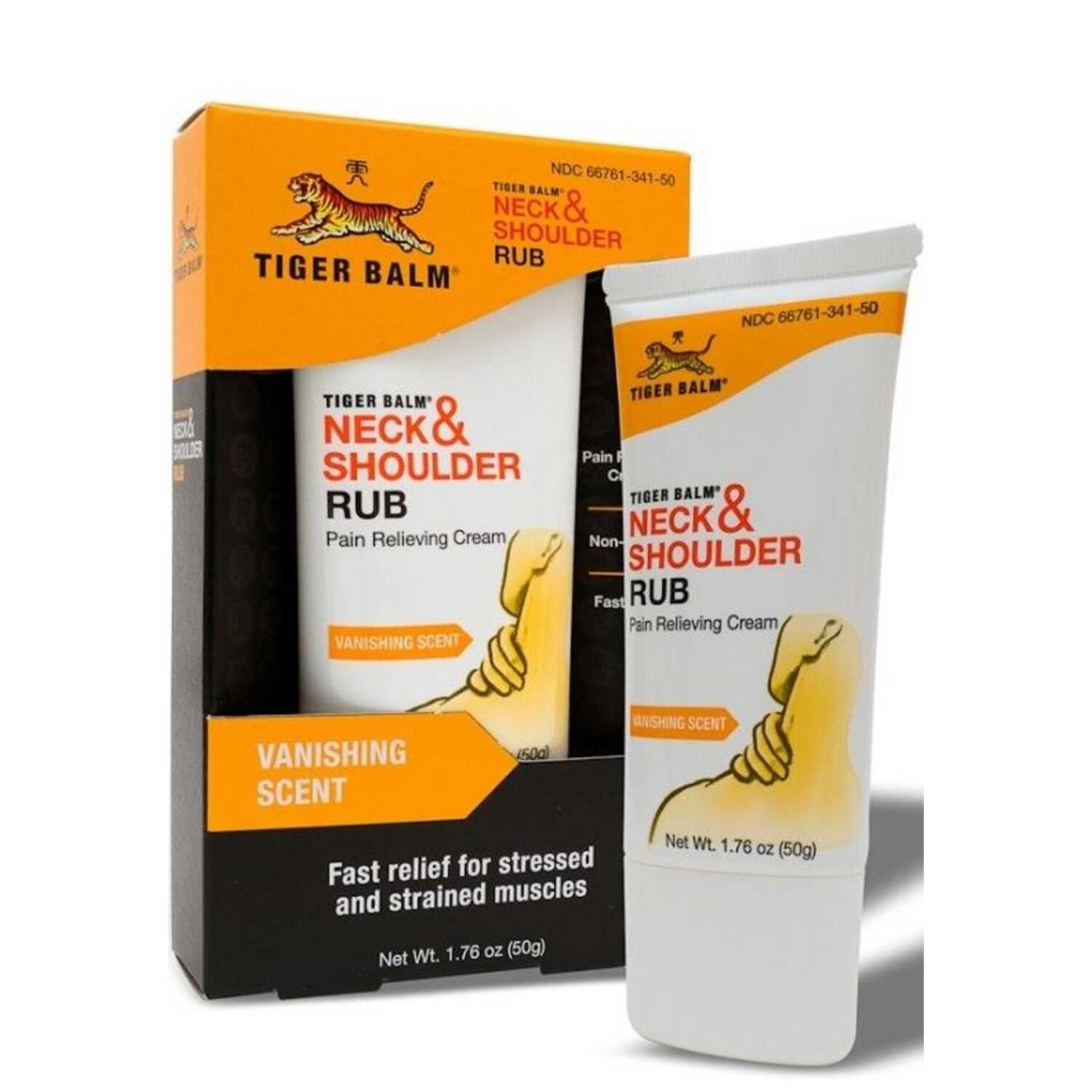 Tiger Balm  Neck and Shoulder Rub  1.76 oz.