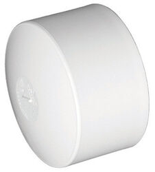 Charlotte Pipe  Schedule 40  6 in. Hub   PVC  Cap
