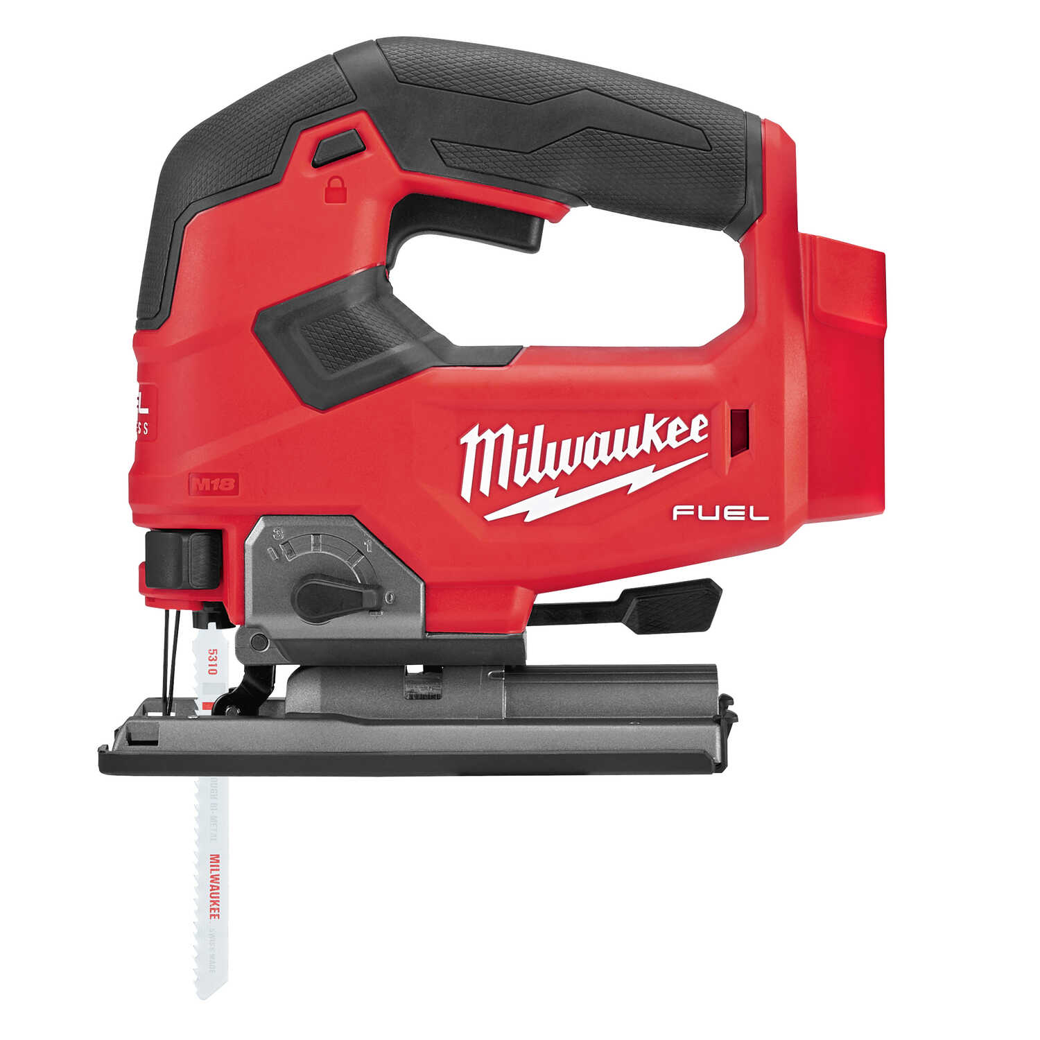 Milwaukee  M18 FUEL  3/4 in. Cordless  Keyless D-Handle  Jig Saw  18 volt 3500 spm