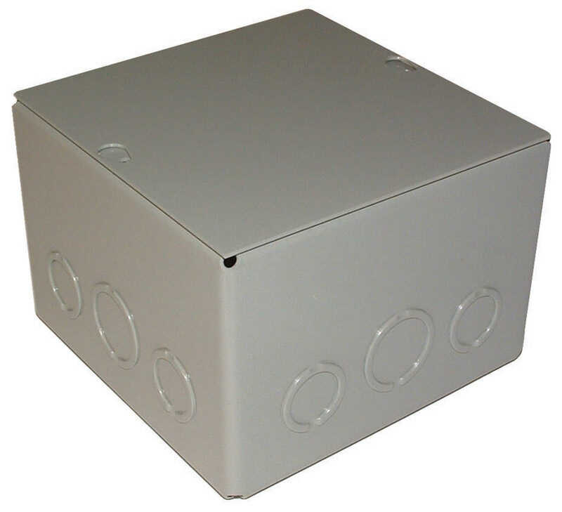 Raco  Rectangle  Steel  Screw Box Cover  For Surface Mounted Junction and Pull Boxes