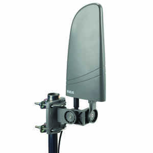 RCA  Indoor and Outdoor  HDTV  Digital Amplified Flat Antenna  1 pk
