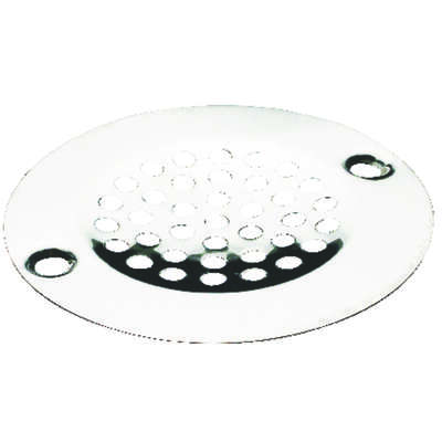 Ace  4-5/8 in. Dia. Chrome  Stainless Steel  Sink Strainer
