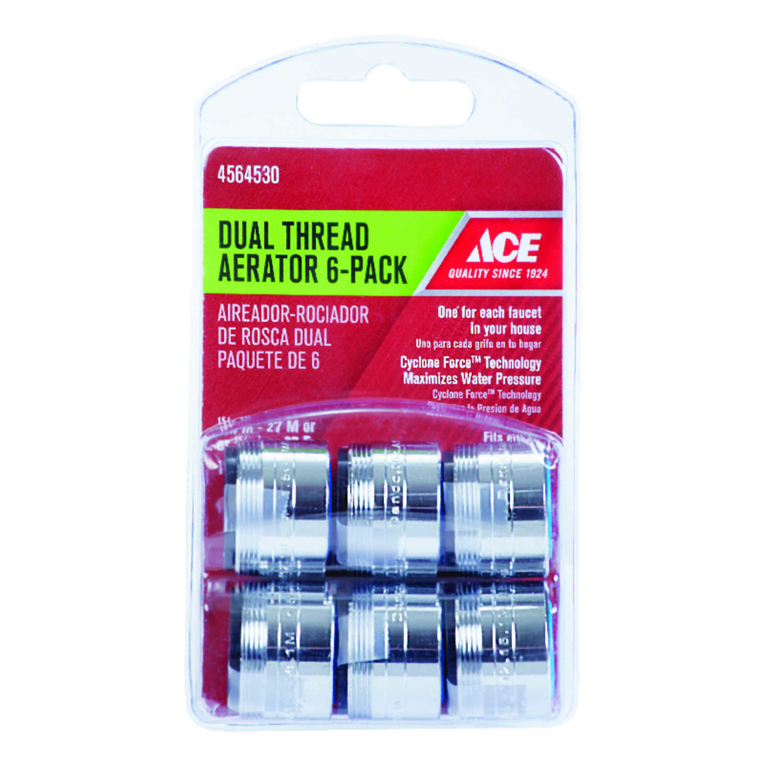 Ace Dual Thread Aerator Adapter 15 16 In X 55 64 In