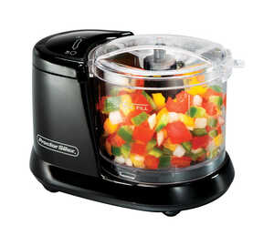 Proctor Silex  Matte  1-1/2 cups 80 watts Food Chopper  Black